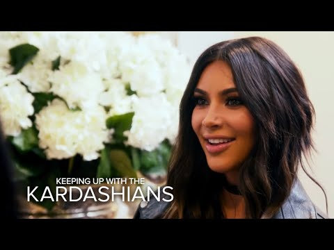 KUWTK Kim Kardashian West Comes Face to Face With Her Lookalike E