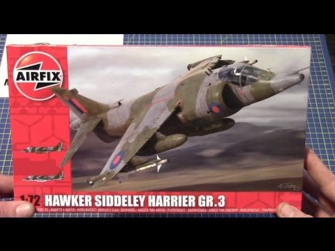 Airfix 1/72 BAe Harrier Gr.3 # 04055 www.eModels.co.uk