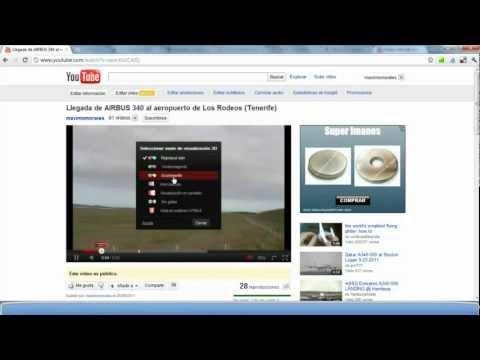 Cómo pasar un vídeo de YouTube a 3D