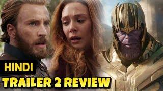 Avengers Infinity War Hindi Trailer 2 Review / Breakdown | Marvel India