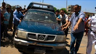 EGYPT || Five policemen killed in attack against police vehicle in Giza