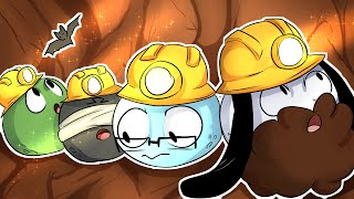 The Crazy Light Cave RAGE + BLAME IT ON THE MOUSE! - GOLF IT FUNNY MOMENTS