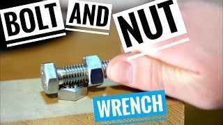 Life Hack Bolt Nut Tool that will Replace Wrenches Hack