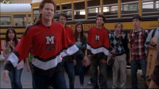 Glee - Puck fights with Rick 'the stick' nelson 3x20