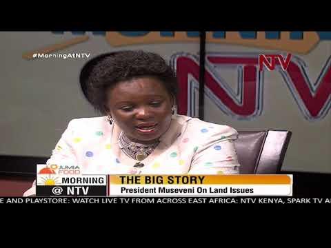 BIG STORY: Hon. Amongi defends President Museveni's radio talk shows on land