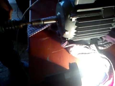Prądnica z silnika trójfazowego 230V 2.8kw