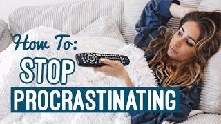 How To BEAT Procrastination 2017 | Get Motivated!