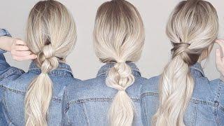 3 Effortless & Easy Hairstyles in Minutes!