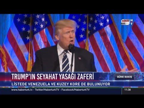 Trump'ın seyahat yasağı zaferi