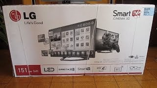 "LG 60LA620S 60"" Full HD Cinema 3D Smart LED TV 