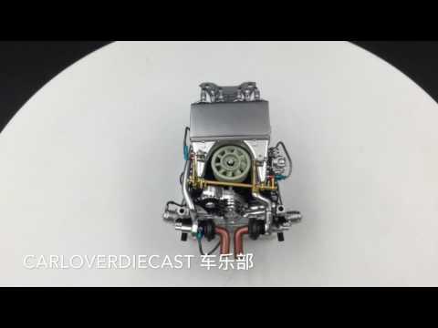 (TSM) 1:18 Porsche 935 K3 Twin Turbo Engine Model (TSM10AC11)