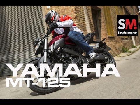Presentación Yamaha MT 125 2015