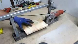 DIY-Angle grinder jig\Portable Grinder Stand( BY ISTOMAKER)
