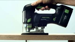 The best jigsaw, the Festool Carvex 420, German designed and manufactured