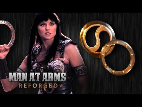 Chakram Xena Warrior Princess MAN AT ARMS REFORGED