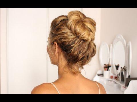 Tuto coiffure : Le chignon va-vite (messy bun)