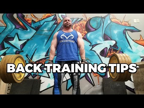 My 3 Back Workout Tips - Big Back, Better Training