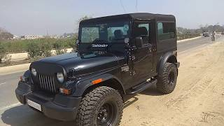 Hardtop Installed in Mahindra Thar By G R CUSTOMS (9988636463)