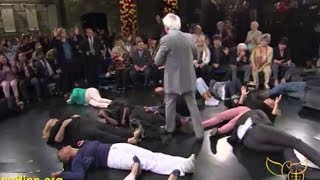 Benny Hinn - Healing Anointing Falling on Studio Audience