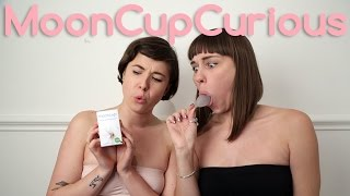 Two girls, two cups - Mooncup Curious