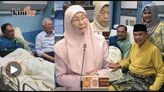 Terima kasih Najib, Zahid ziarah 'banduan politik' - Wan Azizah