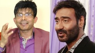 Kamaal R. Khan INSULTS & abuses Ajay Devgn
