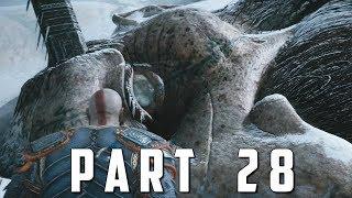 GOD OF WAR Walkthrough Gameplay Part 28 - HEAD OF THAMUR (God of War 4)