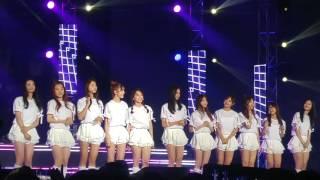 I.O.I - 같은곳에서 (KNN 러브FM 개국 축하공연, Recorded by LG G4)