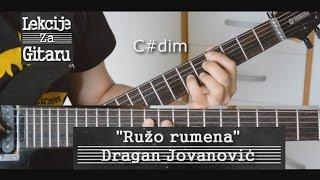 Ružo rumena - Dragan Jovanović - lesson cover
