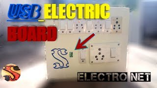 WOW! How to make a USB mobile phone charger Electric board- Homemade