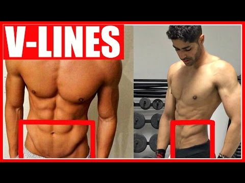 How To Get The V-SHAPED Cut In Your Lower Abs -  100% WORKS!