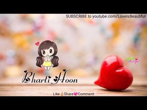 Romantic love WhatsApp status video 💖💞💕💕 || hindi song WhatsApp status ||