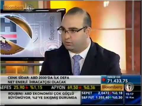 Cenk Sidar BloombergHT Interview (11/16/2012)