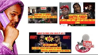 Jay Z Responds to Kanye West | Shots Fired Gucci Mane Video | Meek another man and a bike.... | LIVE