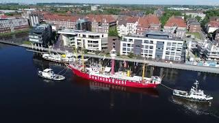 """Feuerschiff """"Amrumbank /Deutsche Bucht"""""""
