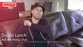 Dustin Lynch Talks About The 1st Time Seeing Himself On CMT & His Amazing Hair
