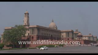 South and North blocks and Parliament House make for the central esplanade in Lutyen's Delhi