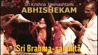 Krishna Janmashtami 2014 Abhisheka