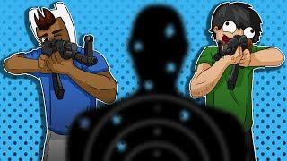 GTA V Gun Running DLC - The Owls Nest Bunker, Shooting Range Challenge!