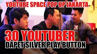 LIVE inilah 30 Youtuber Indonesia yang Dapat Silver Play button