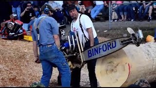 World's Most Powerful Chainsaws Compilation