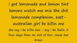Lemonade gucci mane with lyrics