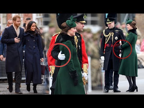 Meghan & Harry's romance rubbing off? William shows Kate affection on St Patrick's Day