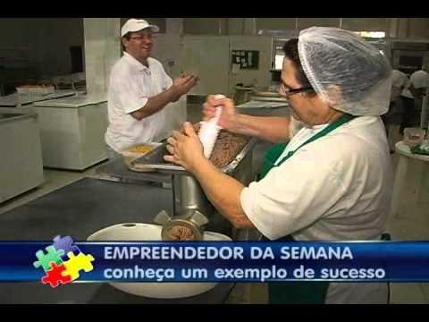 EMPREENDEDORES DE SUCESSO DONATO SALGADOS APRENDENDO A EMPREENDER