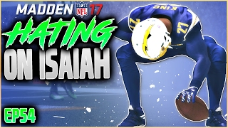 SKIP BAYLESS HATING ON ISAIAH?! MADDEN 17 CAREER MODE RB | SEASON 6