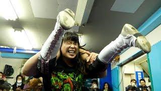 我闘雲舞エキシビジョンマッチ「水森由菜vs里歩 」GATOH MOVE