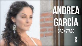 Andrea García, Tease Backstage |  Playboy México