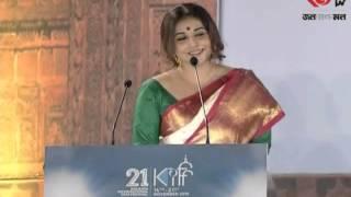 Vidya balan at kolkata film festival