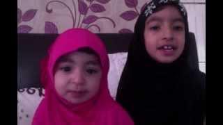 Beautiful naat by 2 year old : La ilaha di sair karandiyaan nain