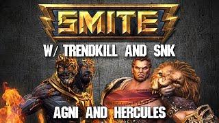 Smite Siege w/ SNK8four! (#1 Blinker NA) [Agni/Hercules]